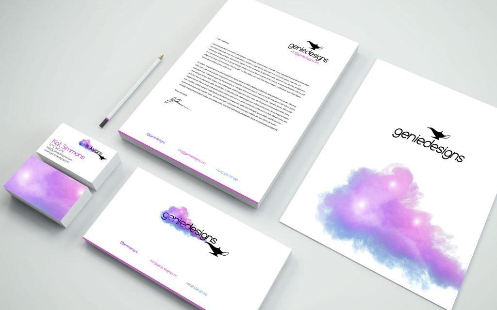brand design sample | business cards