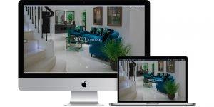 web design brand design sample